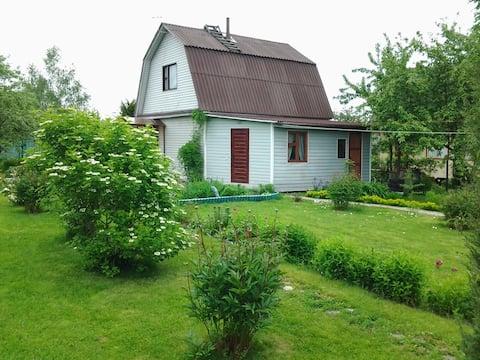 Уютный дом с сауной