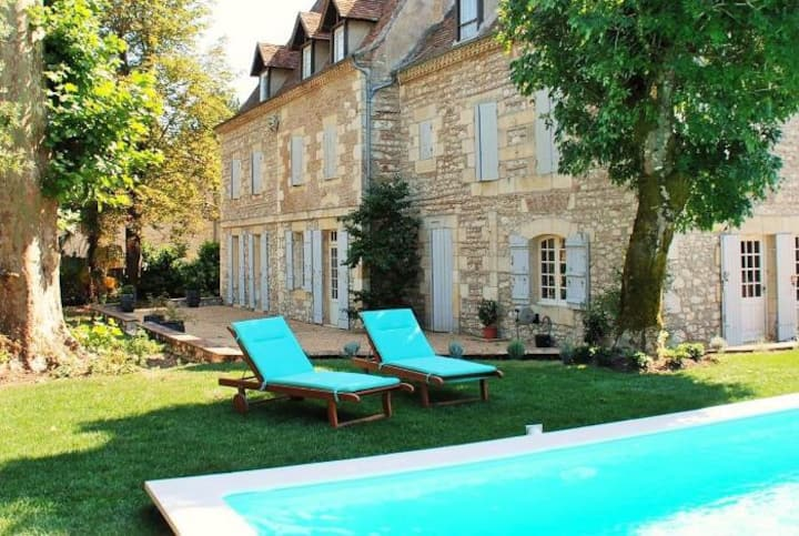 Luxury Manoir, Beautiful Dordogne - Melanie Suite