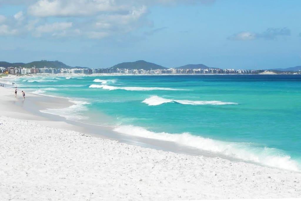Praia do Forte, Praia das Dunas / Beach of Cabo Frio