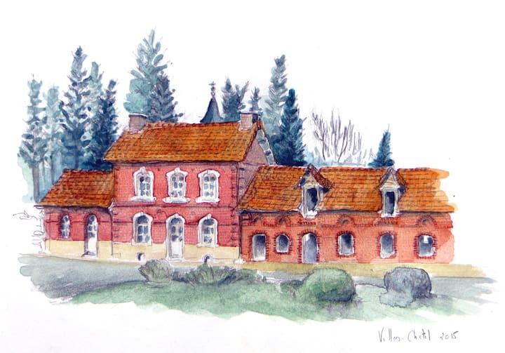 Gîte à la ferme Florimont