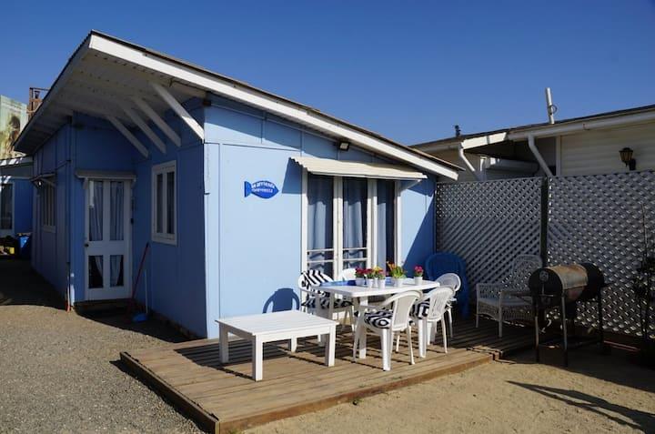 Cabaña17 al lado playa 6 pers - Maitencillo Norte