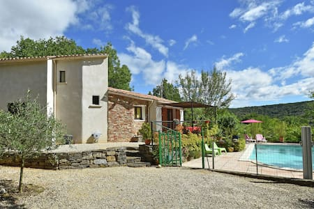 Stylish holiday home near St. Brès, with private swimming pool and stunning view