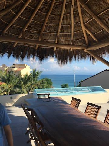 Ocean Views,Surfboards, SUPs, Pool, Housekeeper - Punta de Mita - บ้าน