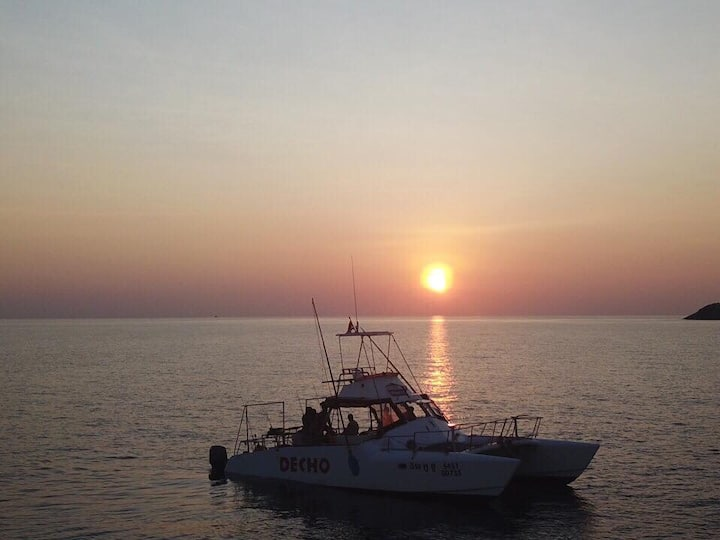 EnjoyPrivate charter to Snorkeling, Fishing&Sunset