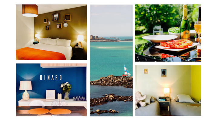 Dinard Sea & Garden Apartment 5min from the beach!