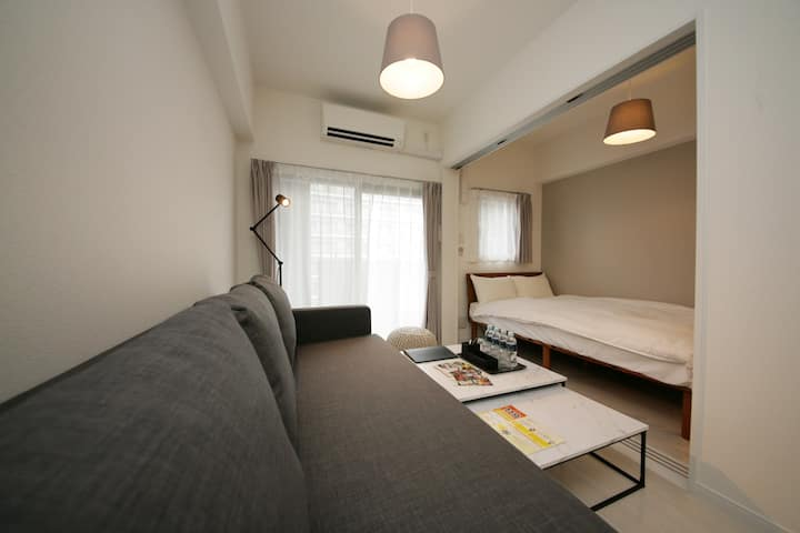 ■A good place for 4 people to stay after LIVE【8-E】