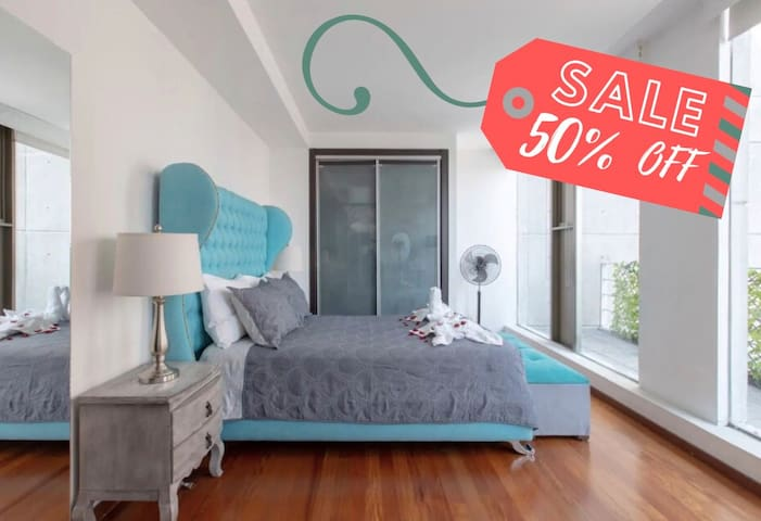 ⚡50% OFF! CozyApt BellasArtes-Top Location