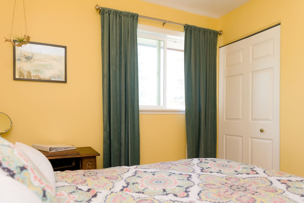 Blackout curtains for a restful night's sleep