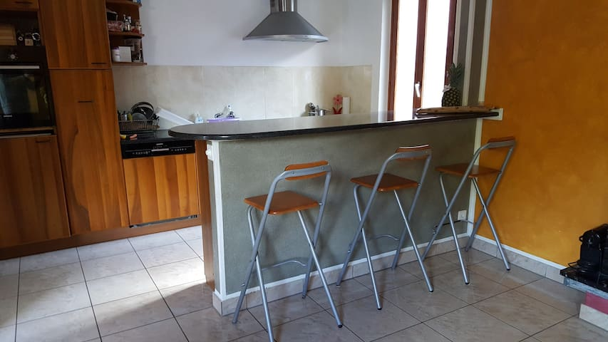 Comfort family apartment with garden - Sigirino