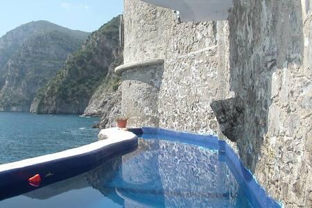 Sea-front pool - Green apartment - Piano di Sorrento