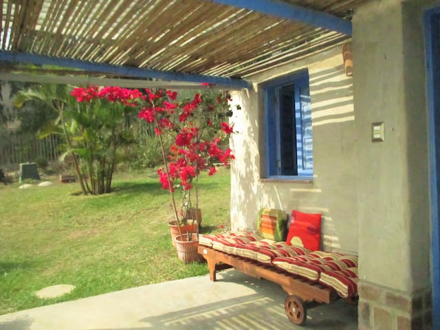 Eco-house in Pachacamac Relaxing and Peaceful home - Distrito de Lima - Domek parterowy