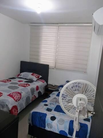 Alcoba 2 camas