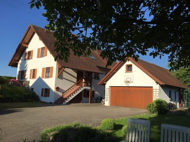 Wohnung am fürstlichen Park in Wolfegg