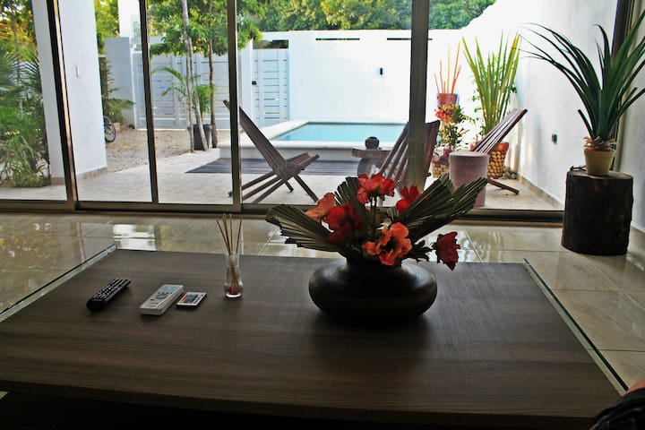 2 Bed house  with pool in Riviera Tulum
