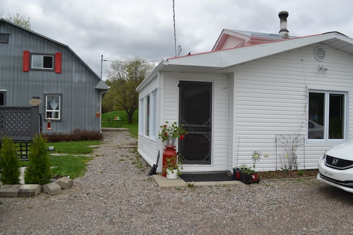 Maison champêtre - Saint-Félix-d'Otis - Ev