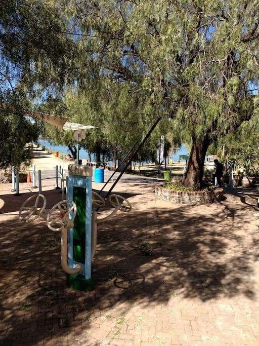 Access to parque metropolitano