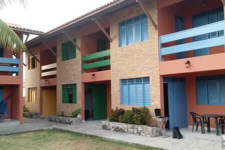 Apartamento a beira-mar em Lucena - 2 quartos