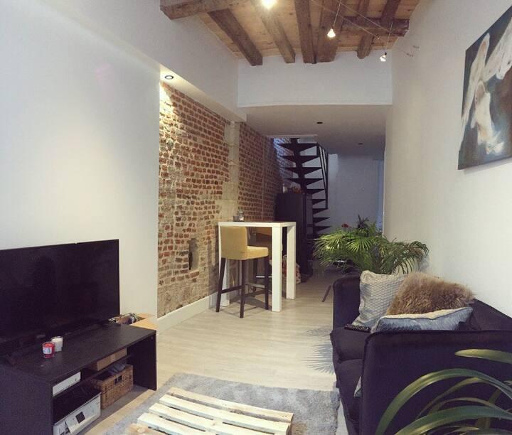 Maison en plein cœur de Valenciennes