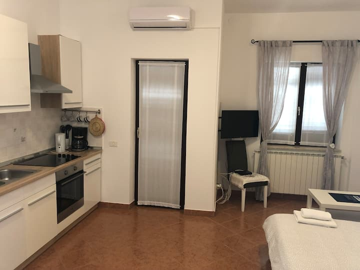 One bedroom Apartment, 200m from city center, in Porec, Terrace