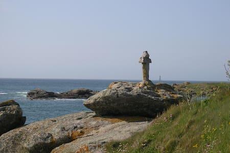 Face à la mer sans vis à vis, silence, lumière... - Porspoder - Dom