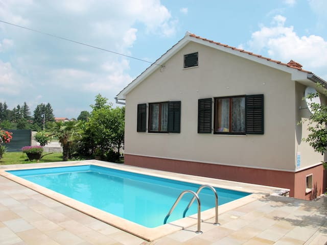 Holiday home Ivana with pool and relaxing garden area