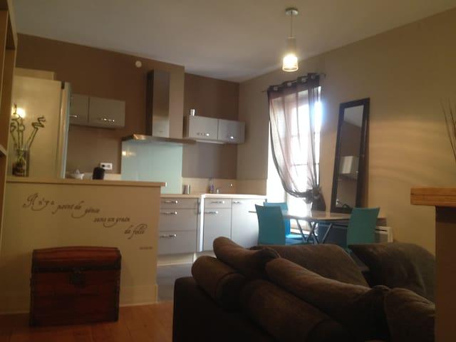 Comme à la maison,  T2  en centre ville - Cahors - Apartment