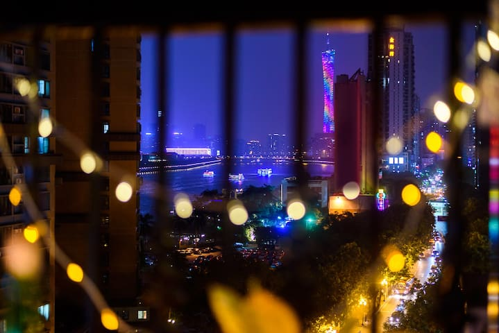 Suite four/Guangzhou Tower is on/Near Pazhou Compl - Canton - Appartement