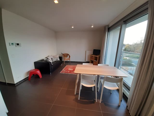 Modern 2- bedroom apartment in Ghent