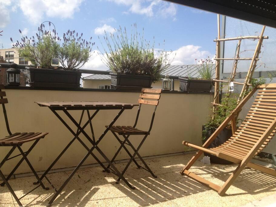 Les jardins de paris appartements louer romainville for Appartement atypique romainville
