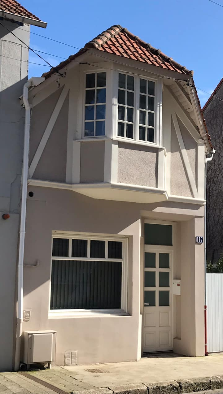 Maison touquettoise  ,marche couvert Triangle d'or
