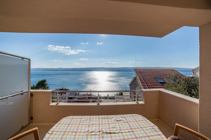 Amazing Sea View Apartment A2 - Omiš - Appartement