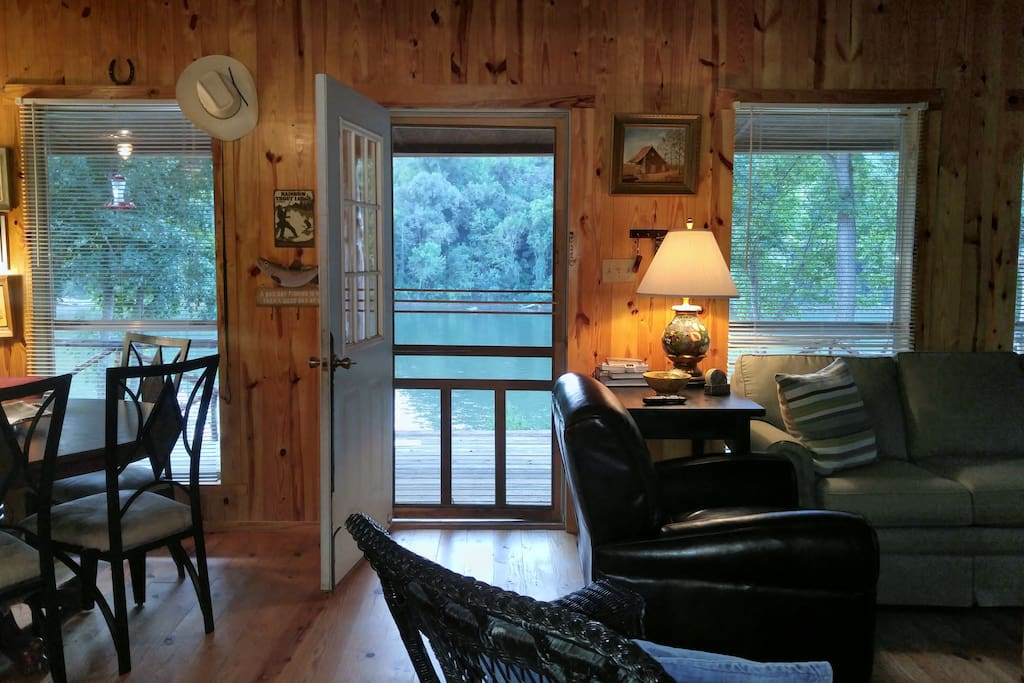 Cool Water Retreat On The White River Cabins For Rent In
