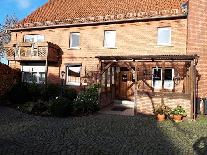 Gut ausgestattete Ferienwohnung in Hess. Oldendorf