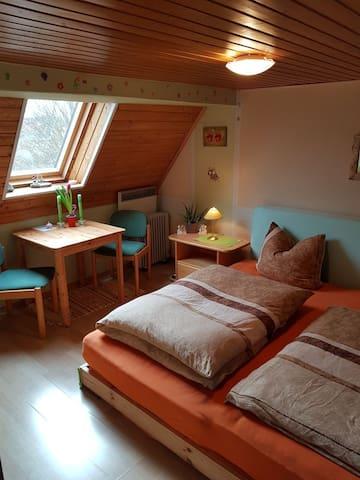 Doppelzimmer ...zusätzliche Matraze möglich mit Aufpreis