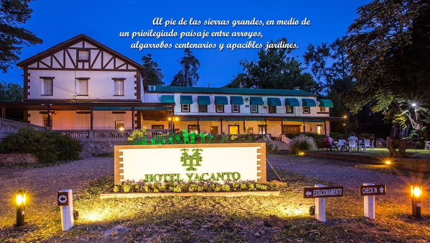 HOTEL YACANTO - Córdoba - Boutique hotel