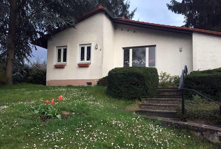 Private quiet room with garden view in Hechtsheim - Mainz - บ้าน