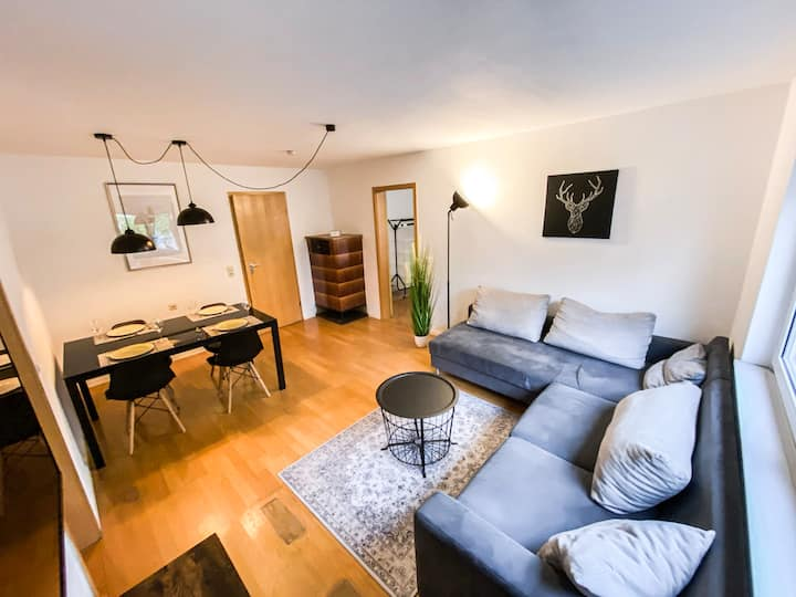 Stylish 3-room apartment. 12 min from city center.