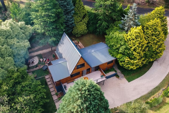 Beautiful home on two private acres