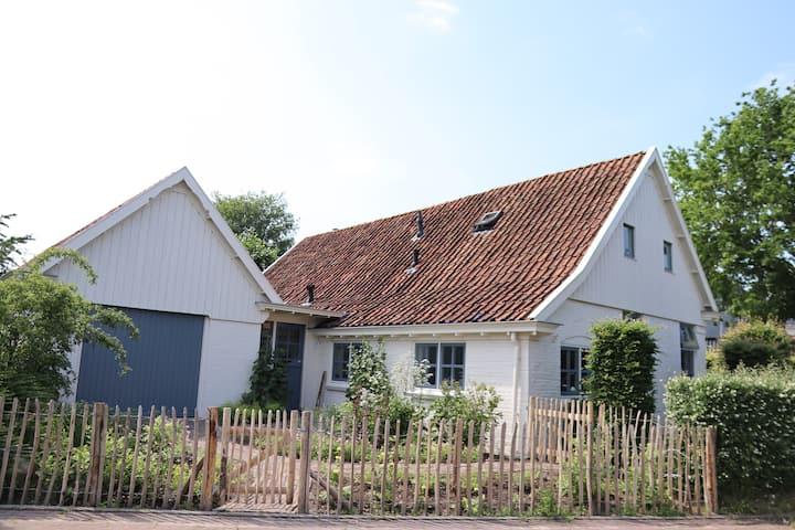 Beautiful private farmhouse with large garden