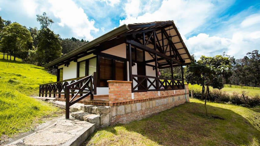 Cabaña privada en el campo