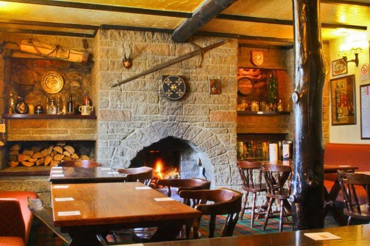 Authentic, Rustic Highland Inn