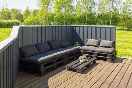 Luxe cottage te Otterup Funen met een sauna
