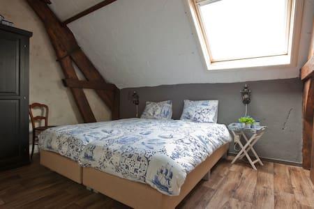 Knusse privékamer in een gezellige Boerderij B&B. - Volkel - Bed & Breakfast