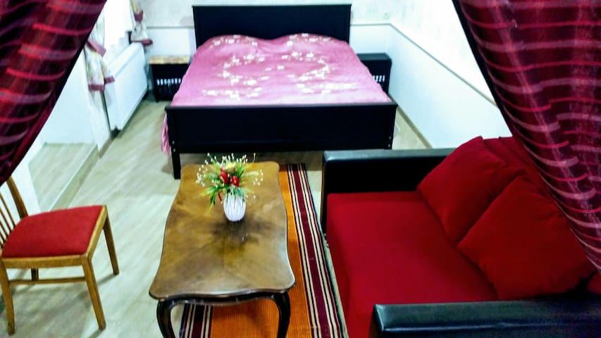 спальная: удобная и уютная.