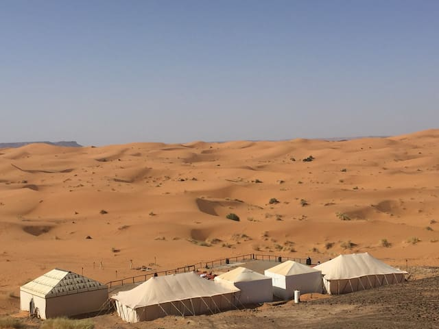 Merzouga luxury desert camp morocco