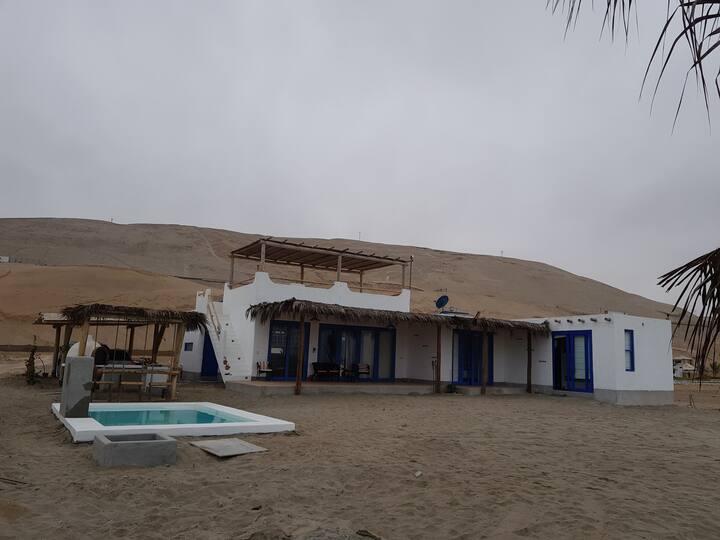 Alquiler de 2 habitaciones - Casa de Playa Topará
