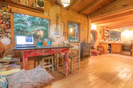 Habitación en Casita de madera y adobe. c/desayuno - San Carlos de Bariloche - Srub