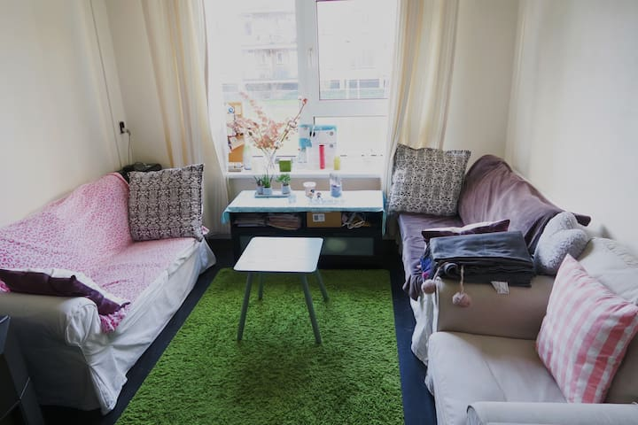 Cozy and quiet room in the central Rotterdam