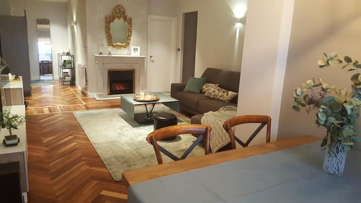 Bilbao como en tu casa -Habitación con baño