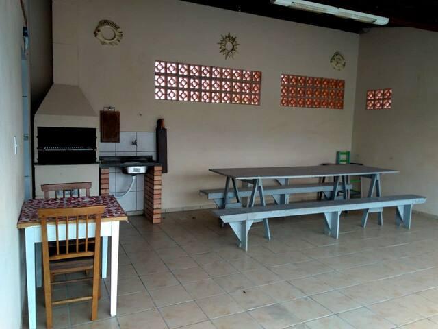 Área de churrasco - Bbcue - grill area